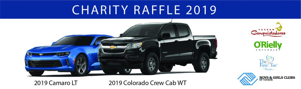 Orielly Chevrolet Tucson >> Tucson Conquistadores Charity Raffle 2019 Boys And Girls