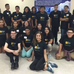 BGCT Club kids in Canales Tee Shirts